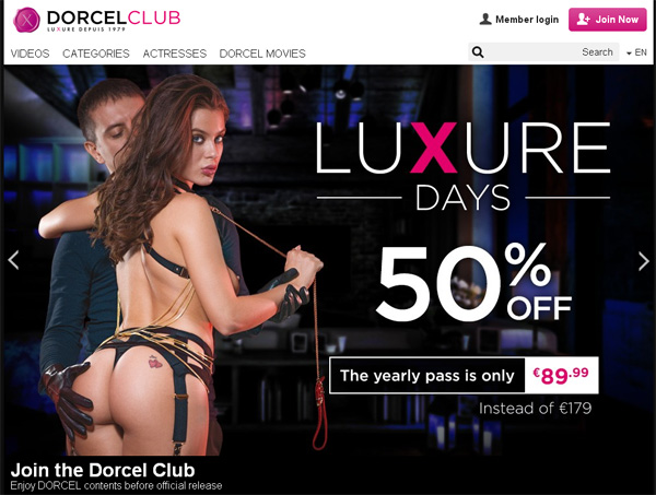 Dorcel Club Free Trial Pw