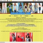 Jeans Model Paypal Signup