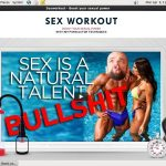 Sex Workout Discount Setup
