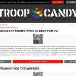 Troop Candy With JCB Card