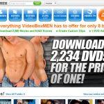 Video Box Men Sign Up Link
