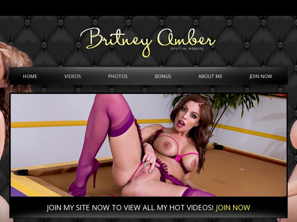 Britneyamber.com Exclusive Discount