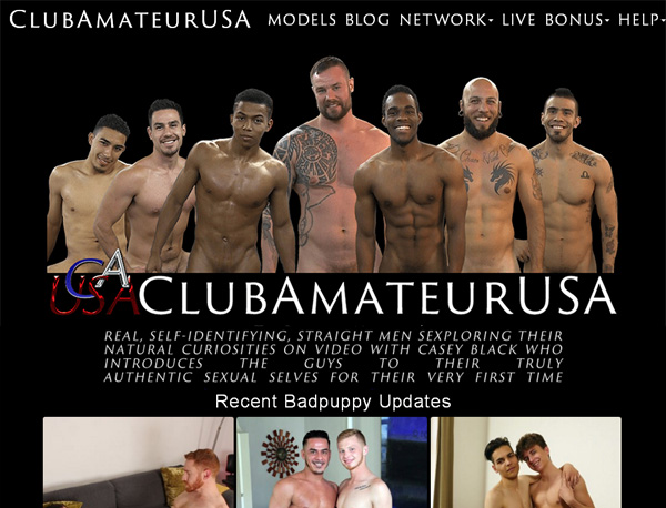 Club Amateur USA Free Pass