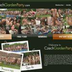 Czech Garden Party Vxsbill Page