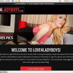 Love 4 LadyBoys Tour