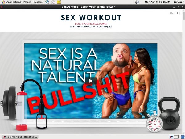 Sexworkout Netcash