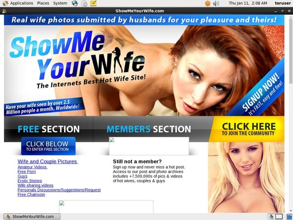 Limited Show Me Your Wife Discount Deal