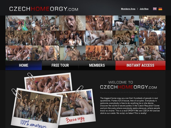 Czech Home Orgy Epoch Payment