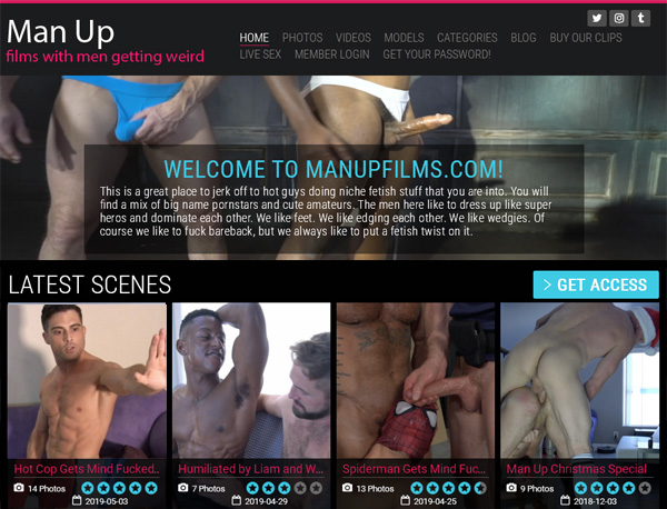Man Up Films With IBAN