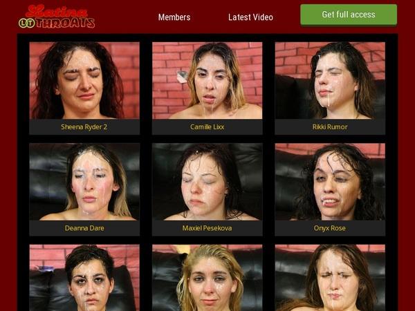 Latinathroats Account Online