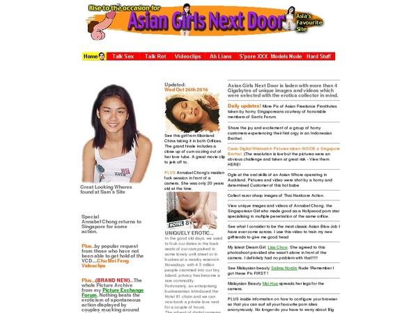 Asian Girls Next Door Membership Trials