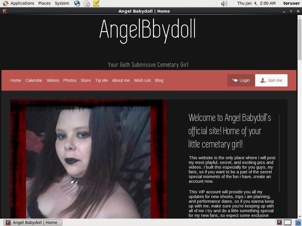 New Free Angelbabydoll.modelcentro.com Account