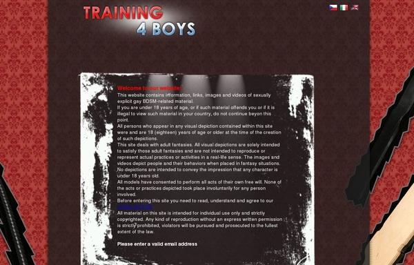 Training 4 Boys Sample