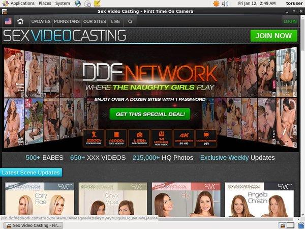 Sexvideocasting.com Discount Coupon