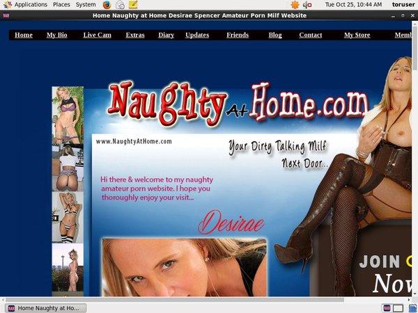 Free Naughty At Home Acounts