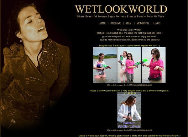 Accounts To Wetlookworld.com