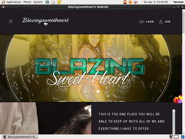 Blazingsweetheart.com Password Share