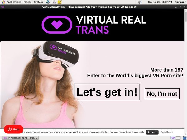Virtual Real Trans Credit Card